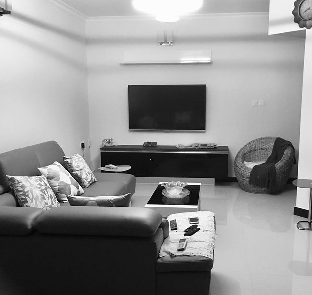 New, Fully Air conditioned condominium, 2 bed,2 bath similar to a hotel suite., holiday rental in Aluva