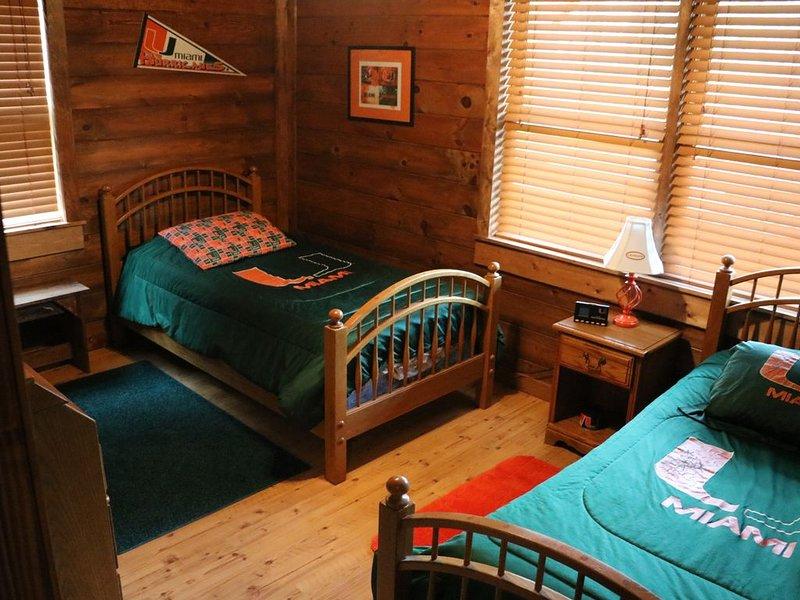 Sótano Dormitorio 2 gemelas
