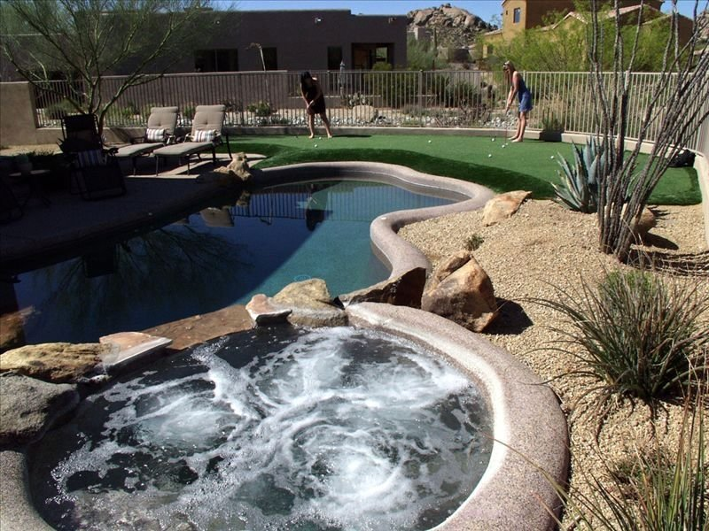 Troon North Golf Rental W/ Putting Green & Private Pool/Spa, utilities included, Ferienwohnung in Carefree