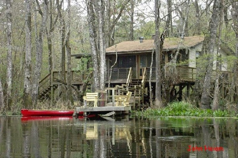 Relax on a Beautiful River in a Natural Florida Setting, alquiler de vacaciones en Tallahassee