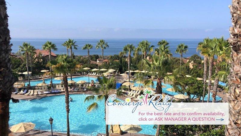Beautiful two bedroom villa at luxurious Marriott Newport Coast! Best Rates!, holiday rental in Laguna Beach