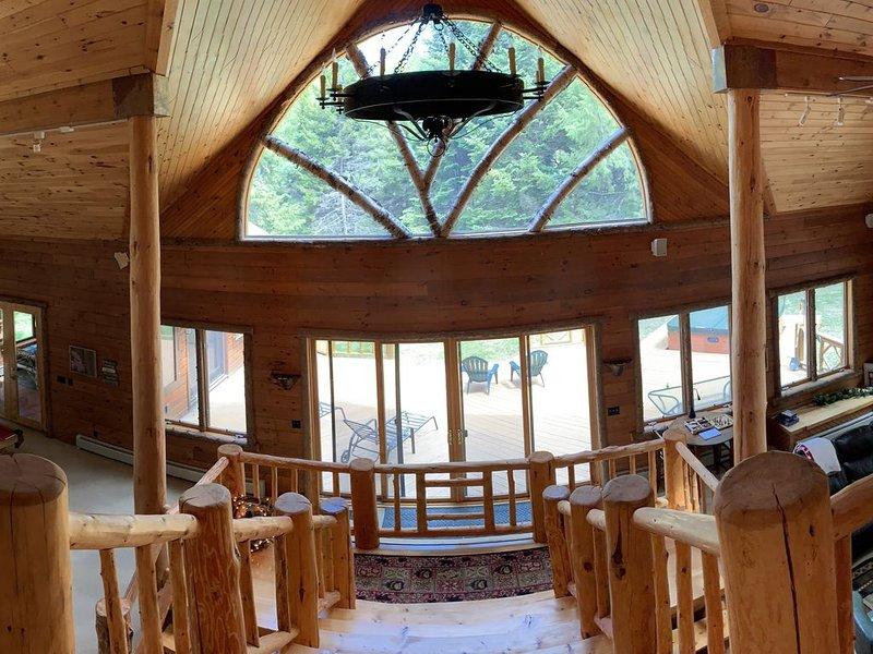 Adirondack Waterfront Lodge Close to Old Forge – semesterbostad i Thendara