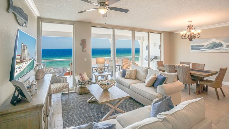 Newly Remodeled, Sensational Views, Enjoy On Site Spa and Free Beach Chairs!, alquiler de vacaciones en Gulf Breeze