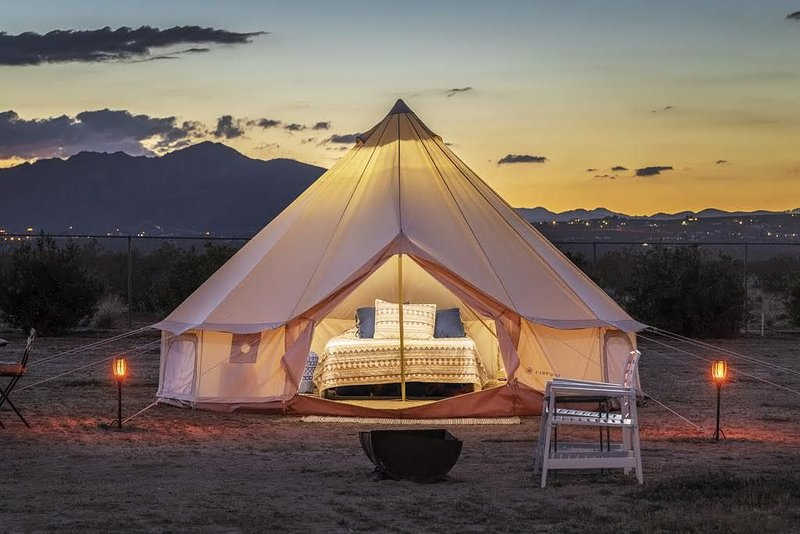 Yurt Tent 2 Summary:, vacation rental in Joshua Tree