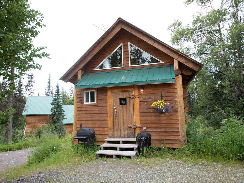 Gate Creek Cabins | Loon's Nest, alquiler vacacional en Trapper Creek