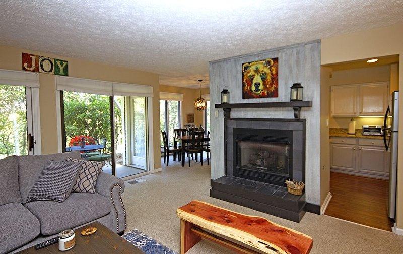 Ro's Retreat--Cozy Clean 3 Bed 3 full Bath condo Family Discounted, location de vacances à Wintergreen