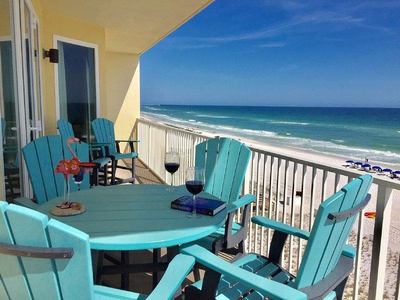 Affordable Luxury * Sea Dunes 3BR/3BA Gulf Front End Unit Free Chairs & Umbrella, alquiler vacacional en Fort Walton Beach