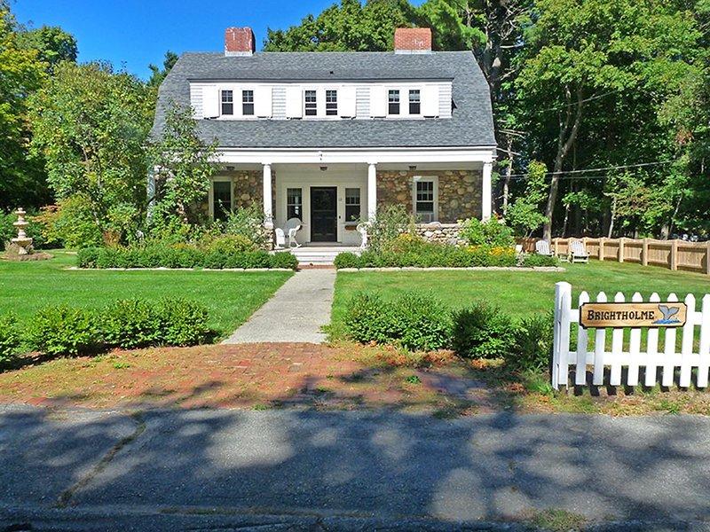 Brightholme: Beautifully Renovated Historic Village Home near The Shore Path, alquiler de vacaciones en Otter Creek