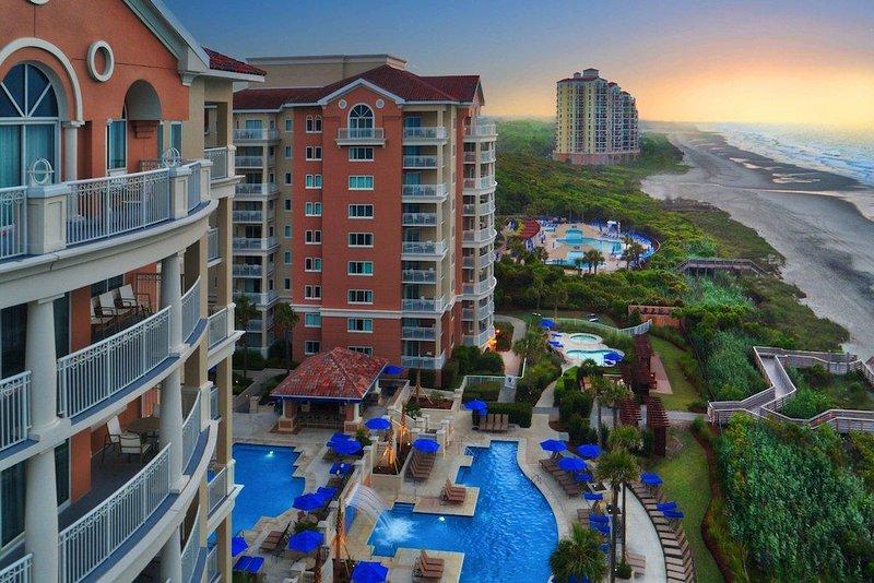 Save thousands over the resort rate!  Marriott's OceanWatch Two bedroom Villa, alquiler de vacaciones en Myrtle Beach