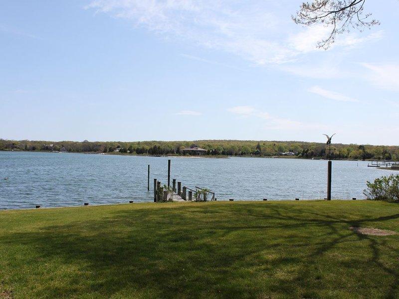 Relax, Restore, Renew: Private Waterfront Rental, Upper Sag Harbor Cove, location de vacances à Noyack