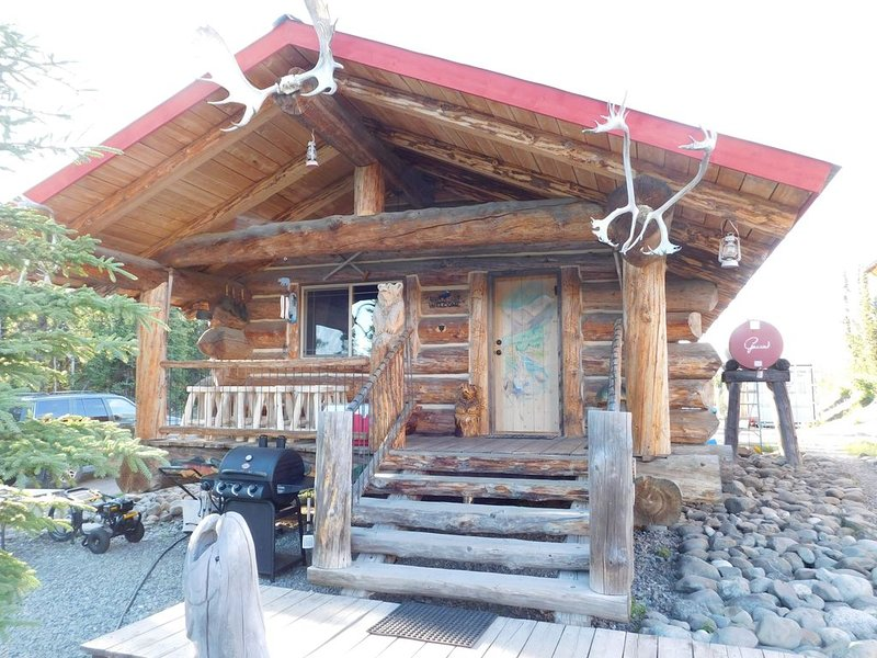 Alaskan Wooden Bear Cabins - Miners Cabin, alquiler vacacional en Sterling