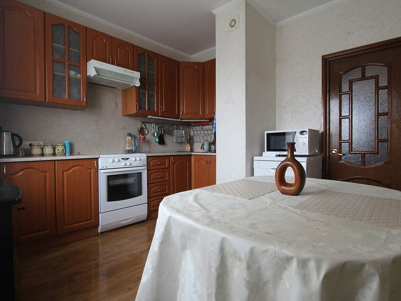 Comfortable two-bedroom apartment, holiday rental in Ostrovtsy