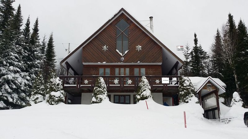 Le Suisse Ski in Ski out Valinouet Mont Valin, vacation rental in Saint-David-de-Falardeau