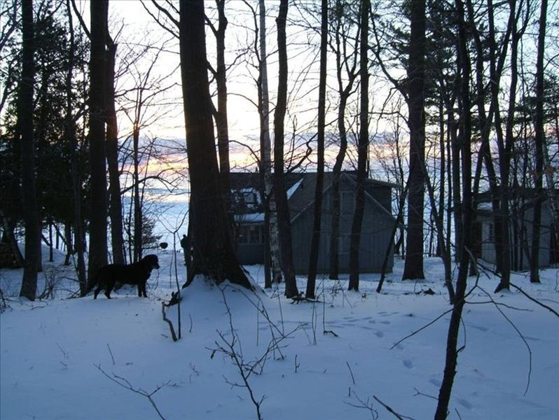 Cottage in wintertime