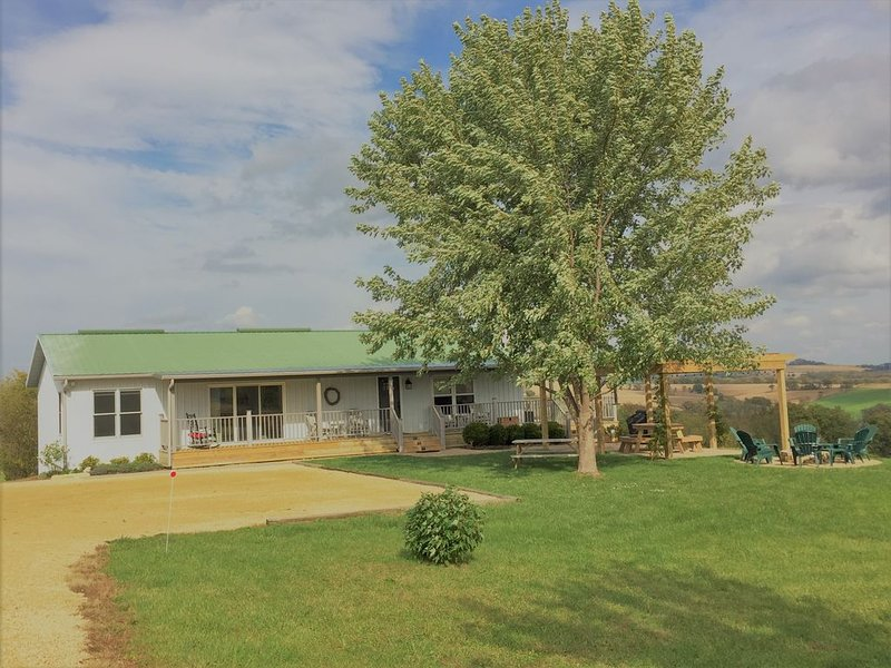 Bird Cottage * Sorriso Vineyard Galena Illinois, casa vacanza a Sabula