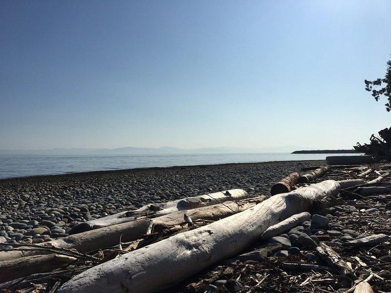 Beach is a short walk away.