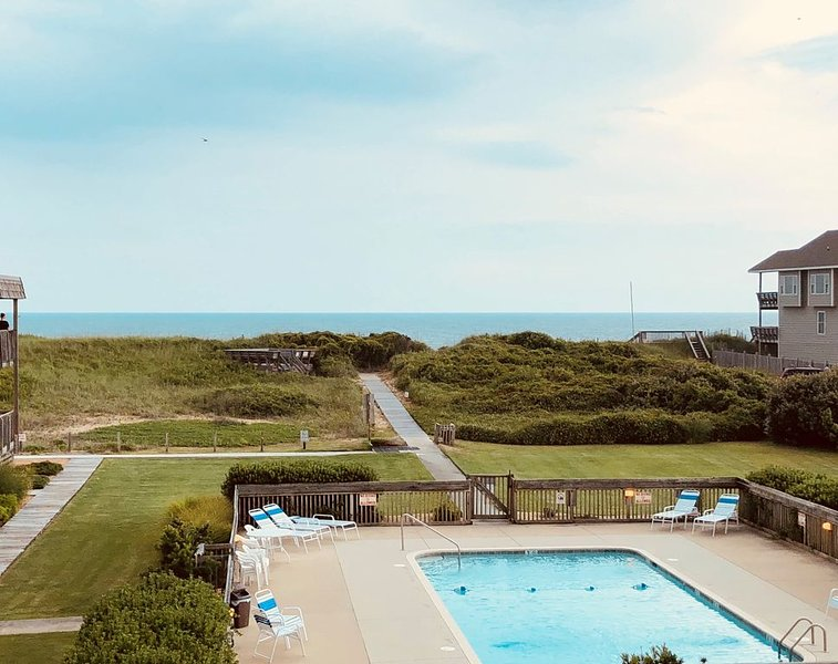 Oceanside Pool and View from Deck