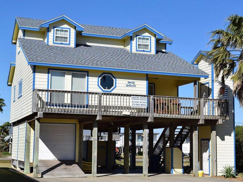 Sandy Bottoms beach house, alquiler vacacional en Surfside Beach