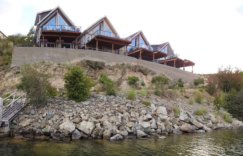 Lake Front Cottage with unobstructed lake views, vakantiewoning in South Fintry