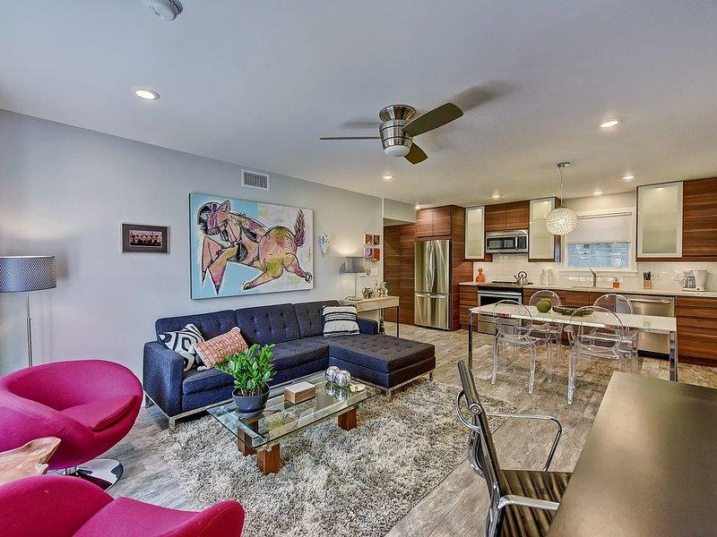 Clean and Modern 1br Myers Park Apartment w/Private Entrance, aluguéis de temporada em Charlotte