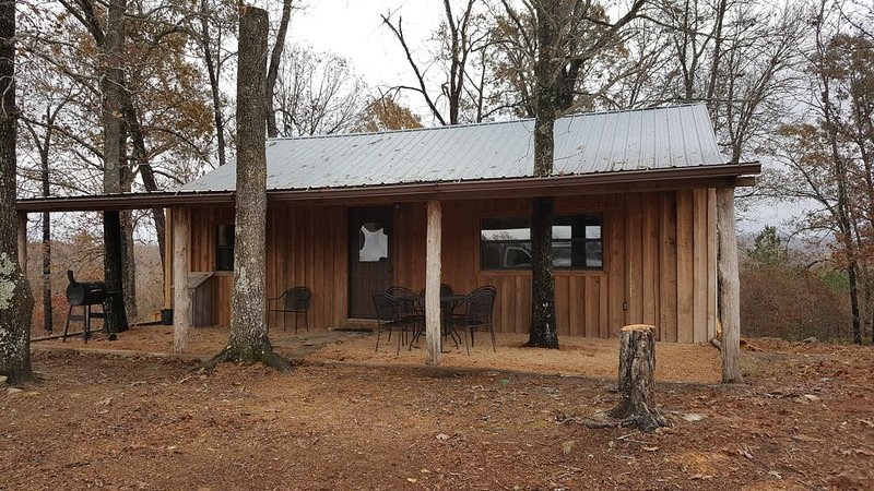 A secluded cabin on the Buffalo Nation River with beautiful views and wildlife., location de vacances à Everton