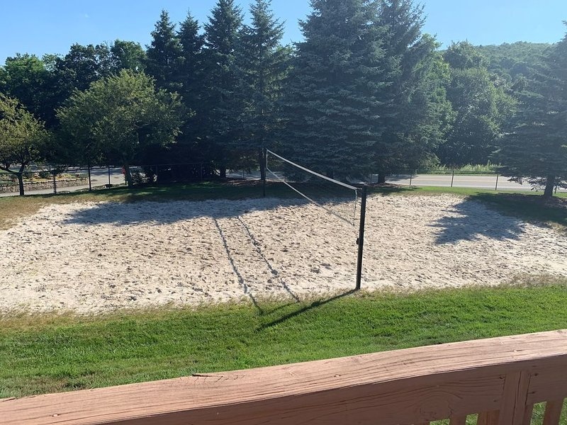 Volleyball Courts and Basketball Court by Pool