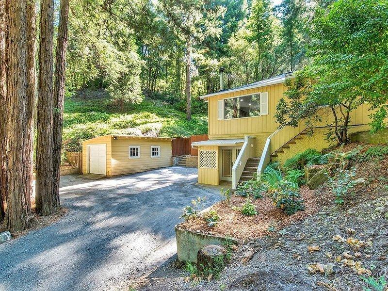 Enchanting Retreat near River, Redwoods, Vineyards, casa vacanza a Rio Nido