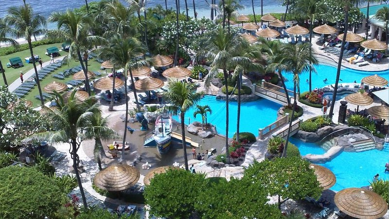 Marriott Maui Ocean Club-One Bedroom with OceanView February 9-16. $525 a night!, holiday rental in Lanai
