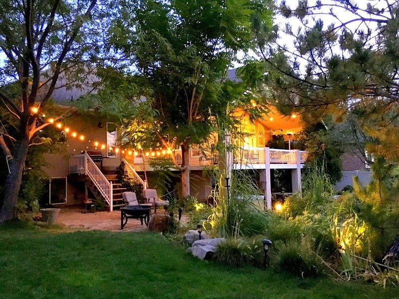 Executive Family home in upscale area, location de vacances à Saratoga Springs