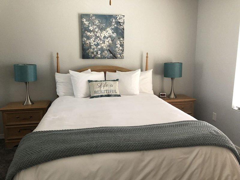 Dormitorio relajante, tranquilo y fresco