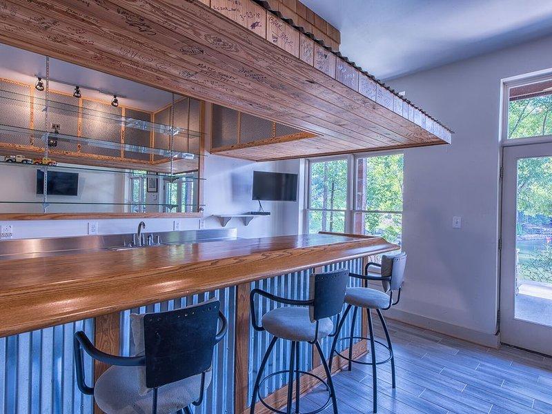 Lower level bar - dishwasher, sink and mini fridge available!