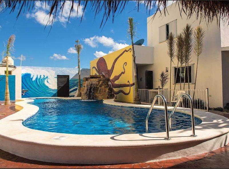 Casa de Mario 2 (Shared Pool), holiday rental in San Miguel de Cozumel