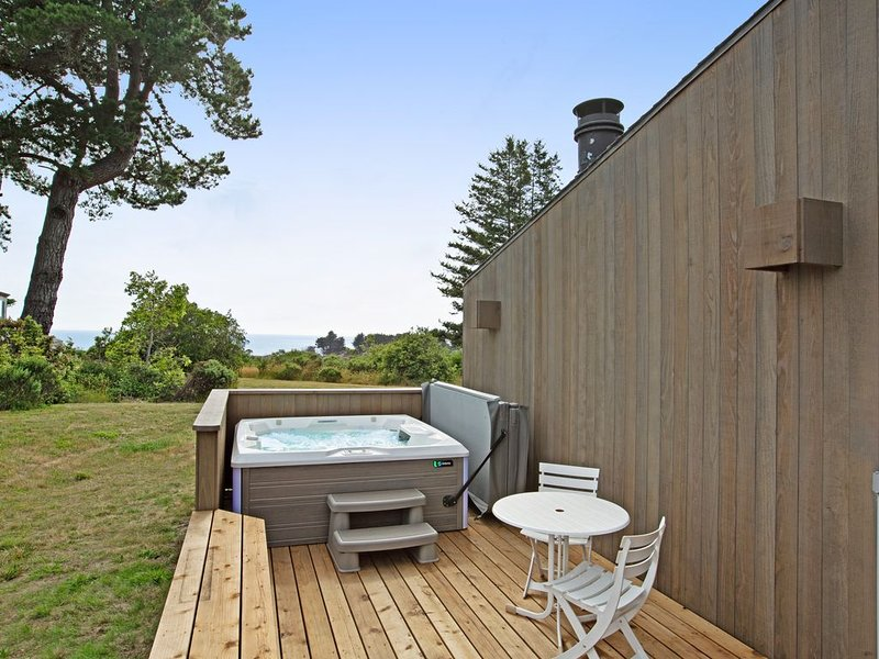 Ocean view home w/ private hot tub & shared pools/saunas! – semesterbostad i The Sea Ranch