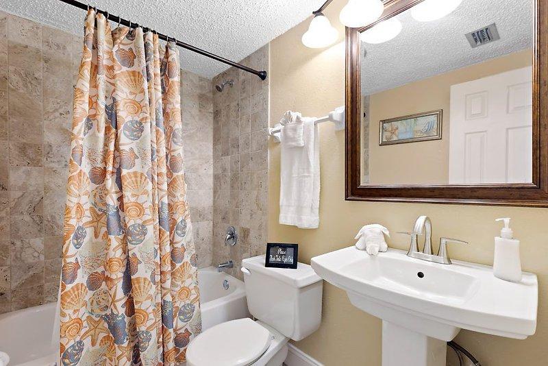 Bathroom in Capt. America Unit