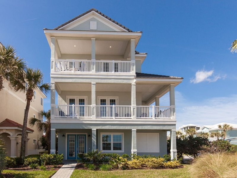 Newly Remodeled Oceanside Home in Cinnamon Beach!!! PORT OF THE WHALE!!, alquiler de vacaciones en Palm Coast