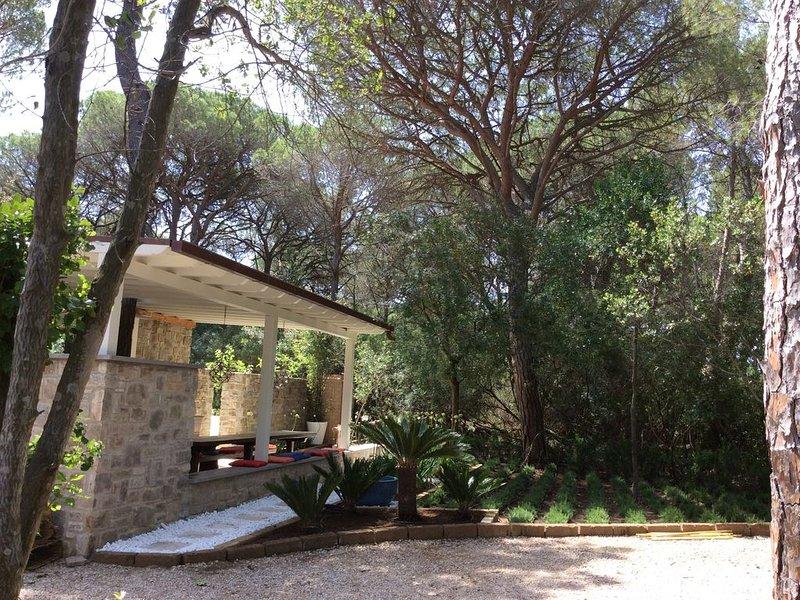Jardins et salle à manger