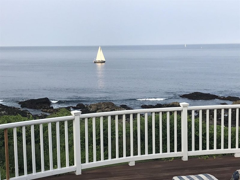 Incredible views from our deck. Unobstructed views. Breathtaking