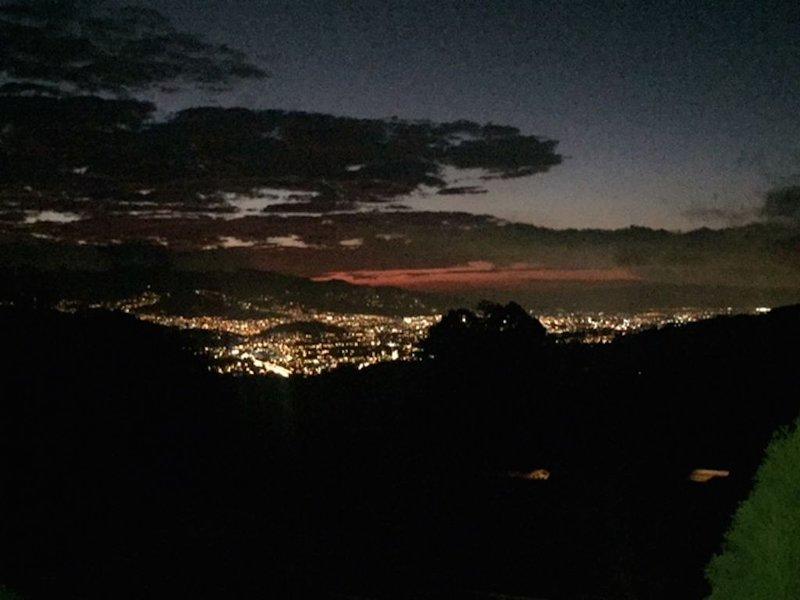 Night view.
