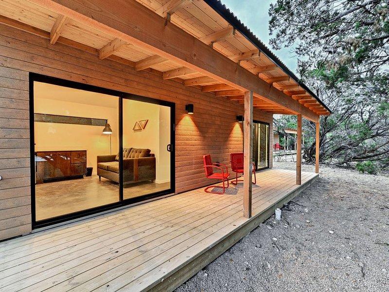 Lucky Arrow Retreat: Porch Houses, casa vacanza a Dripping Springs