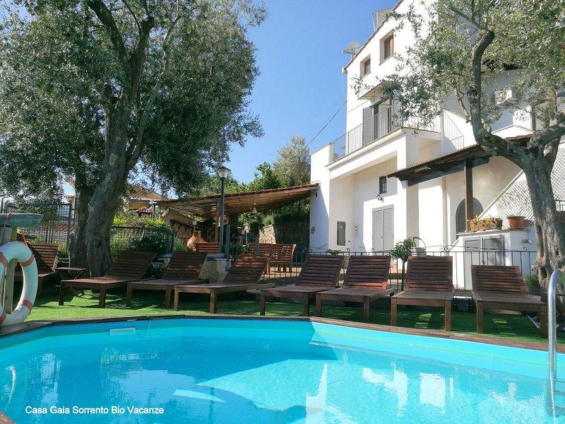 Panoramic Holiday House Casa Gaia Sorrento – semesterbostad i Sorrento