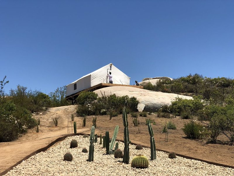 Glamping meaning enjoy nature in a comfortable way, holiday rental in Villa de Juarez