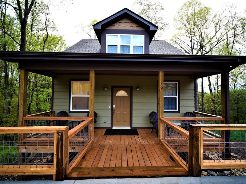 New Asheville Craftsman Minutes From Downtown, holiday rental in Woodfin