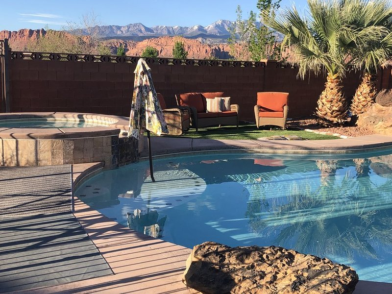 St George Home with Private Pool & Spa, vacation rental in Santa Clara