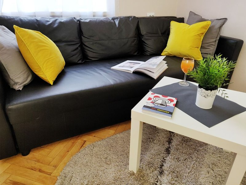 Comfortable apartment in the city center, holiday rental in Kulykiv