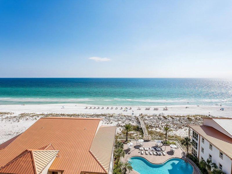 Marvelous View Overlooking the Gulf of Mexico, On Site Spa, location de vacances à Pensacola Beach