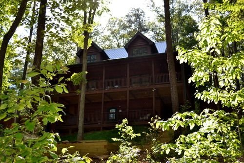 *Free Whitewater Rafting & Ziplining* Spacious & Secluded Cabin 7 Miles to Blue, vacation rental in Epworth
