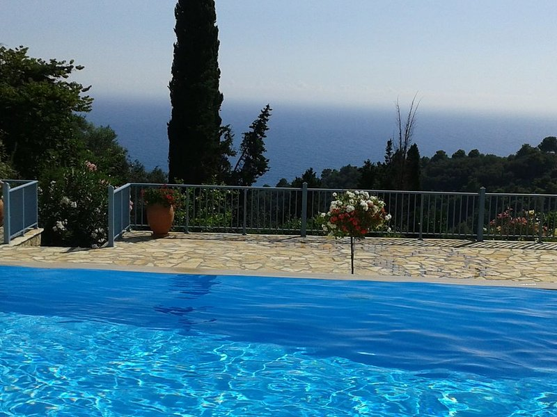 Beautiful see view villa with infinity pool, vakantiewoning in Pelekas