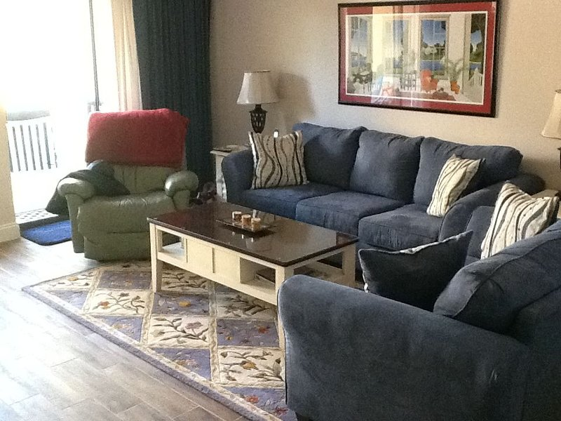 Newly furnished living room
