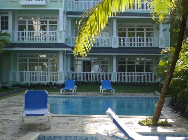 Ocean and Beach Front 2 Bedroom Luxury Condo. Walk Into Town- Monthly Specials !, vacation rental in Sosua