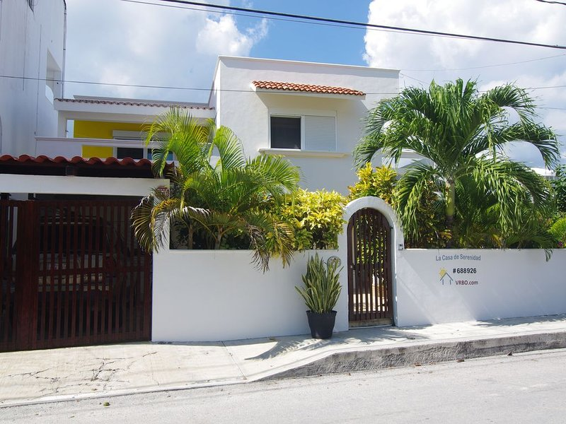Spacious 3 bdr House - Private Pool and Hot Tub right in town of Puerto Morelos!, holiday rental in Puerto Morelos